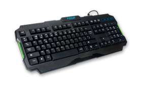 TECLADO GAMER CON LED NOGA 229