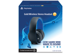 GOLD WIRELESS STEREO HEADSET 7.1 PS4