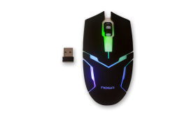 MOUSE GAMER INALAMBRICO RECARGABLE NOGA 620